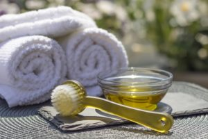 Matériel pour massage du ventre